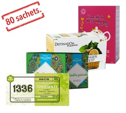 Invigorating Infusions selection pack - 4 x 20 tea bags