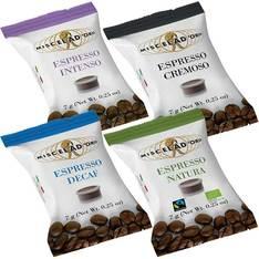 Pack Découverte : 400 Capsules Miscela D'Oro Espresso Point Compatible