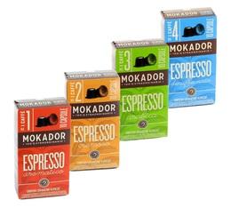 Pack découverte - Capsules Mokador Castellari x40 pour Nespresso