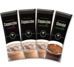 40 sticks Cappuccino (Vanille, Noisette, Choco/Noisette) - Inspiration (Lavazza)