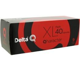 PACK XL - Capsules DeltaQ Qharacter Delta café x 40