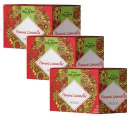 Pack Infusions pomme canelle - Maison Taillefer - 3 boîtes de 20 sachets