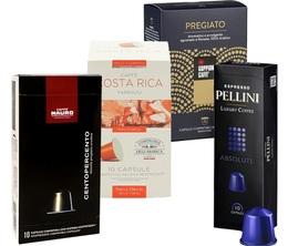 Pack Italien 100% Arabica (Exclusivité MaxiCoffee) : 40 capsules pour Nespresso