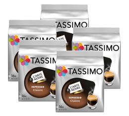 Pack Dosette Tassimo Carte Noire Expresso Classic - 80 T-Discs