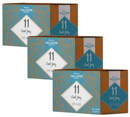 Pack Thé noir earl grey en sachet- Maison Taillefer - 3 boîtes de 20 sachets
