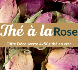 Pack découverte Thé Rose (4x50g) - Exclusif MaxiCoffee