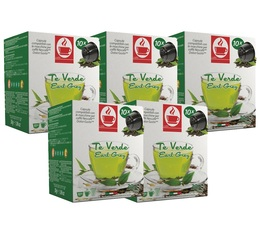Pack Capsules Nescafe® Dolce Gusto® compatibles Thé Vert Earl Grey 5 x 10