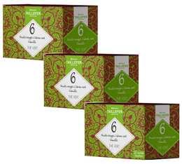 Pack Thé vert fruits rouges citron vert en sachet- Maison Taillefer - 3 boîtes de 20 sachets