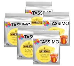 Pack Dosette Tassimo Twinings Thé Earl Grey - 80 T-Discs