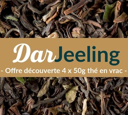 Pack découverte Thé Darjeeling (4x50g) - Exclusif MaxiCoffee