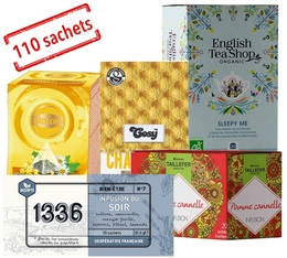 Relaxing Infusions selection pack - 5 boxes of 20 tea bags