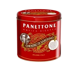 Panettone traditionnel (fruits confits, raisins) - 1Kg - Lazzaroni