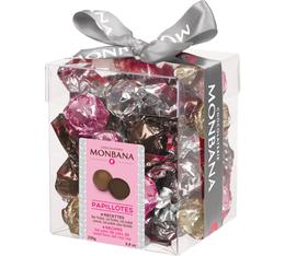 Mini box de papillotes au chocolat (4 saveurs) - 250gr - Monbana