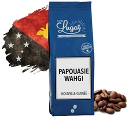 Cafés Lugat Coffee Beans Papua Wahgi from Papua New Guinea - 250g
