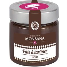 Pâte à tartiner Chocolat Noir - Sans huile de palme - 250g - Monbana