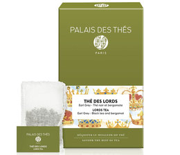 Palais des Thés 'Thé des Lords' flavoured black tea - 20 chiffon tea bags