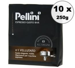 Café moulu Pellini Vellutato 10x250g