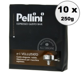 Pellini Vellutato ground coffee 10x250g