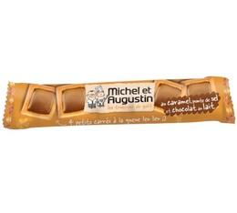 4 petits carrés au Caramel, pointe de sel et chocolat au lait - Michel et Augustin