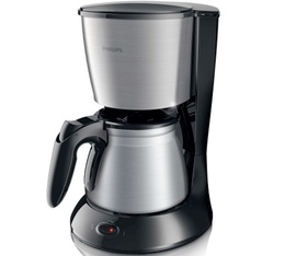 Cafetière filtre Philips Daily Collection inox HD7469/20 + offre cadeaux