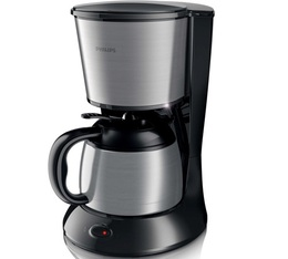 Cafetière filtre Philips Daily collection isotherme inox HD7478/20 + offre cadeaux