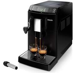 Philips Serie 3100 BlackEdition Latte Art MaxiPack