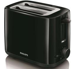 Grille-pain Philips Daily noir HD2595/90 2 fentes