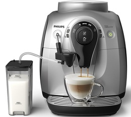Philips Serie 2100 Silver Cappuccino HD8652/51 StartPack