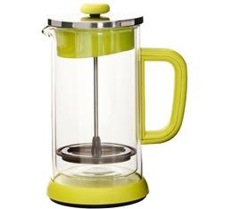 Cafetière à piston double paroi verte 1L - Idélice