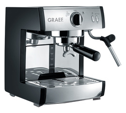 Machine expresso Graef Pivalla pour café moulu, Senseo et Nespresso