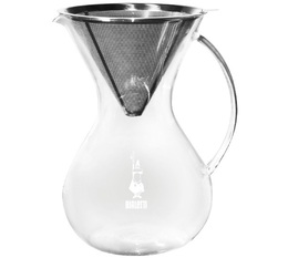 Bialetti pour-over coffee maker + permanent filter for Slow Coffee