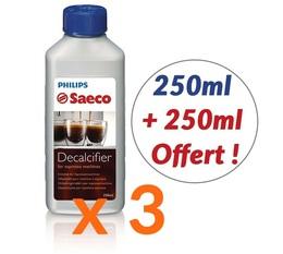 3 x Détartrants Saeco Philips CA6700 pour machine à café- 250 ml + 250ml Offert !