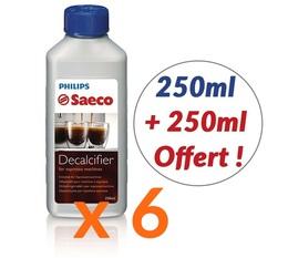 6 Détartrants Saeco Philips CA6700 pour machine à café- 250 ml + 250ml Offert !