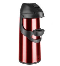 Pichet à pompe isotherme PRONTO rouge Emsa - 1,9L
