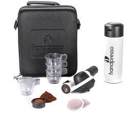 Handpresso Coffret Pump Blanc- Dosettes ESE et café moulu