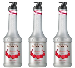 Lot de 3 Purées de Fruit Monin - Betterave - 3 x 1L