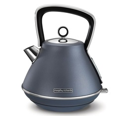 Bouilloire Evoke Pyramide Steel Blue 1.5L - Morphy Richards