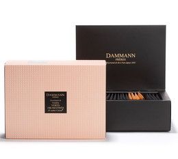 Dammann Frères QUARTZ green tea gift box - 20 assorted Cristal® sachets