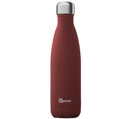 QWETCH insulated bottle in chilli red - 500ml