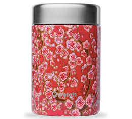 Lunch box isotherme double paroi inox Flower Rouge 34 cl - Qwetch