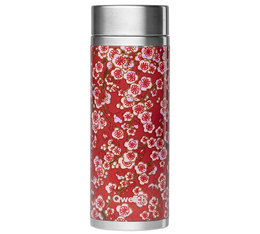 Théière isotherme Flowers inox 300 ml + 2 infuseurs - Qwetch