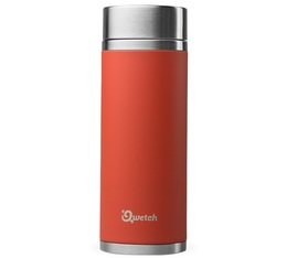 Théière isotherme nomade inox rouge 300 ml + 2 infuseurs - Qwetch