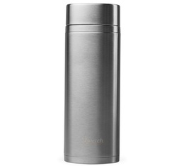 Théière isotherme nomade inox brossé 300 ml + 2 infuseurs - Qwetch