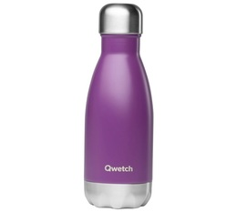 QWETCH insulated drinking bottle in purple - 260ml