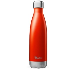 Bouteille isotherme inox rouge brillant 50 cl - Originals Qwetch