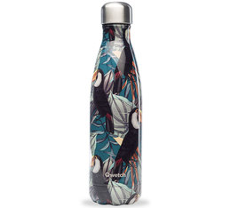 Qwetch Insulated Stainless Steel Bottle Tropical Toucan Collection - 50 cl