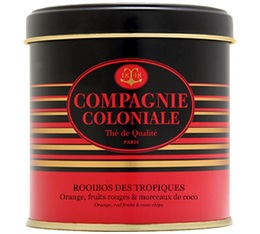 Rooïbos des Tropiques fruity rooibos - 90g loose leaf in tin - Compagnie Coloniale