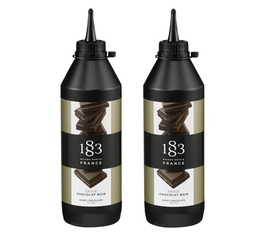 Lot de 2 Sauces 1883 Routin Chocolat - 2x500ml