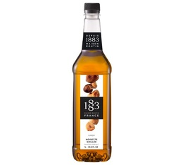 Syrup 1883 Routin Roasted Hazelnuts in Plastic Bottle - 1L