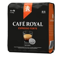 Café Royal Espresso Forte coffee pods for Senseo x36